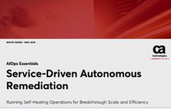 Service-Driven Autonomous Remediation
